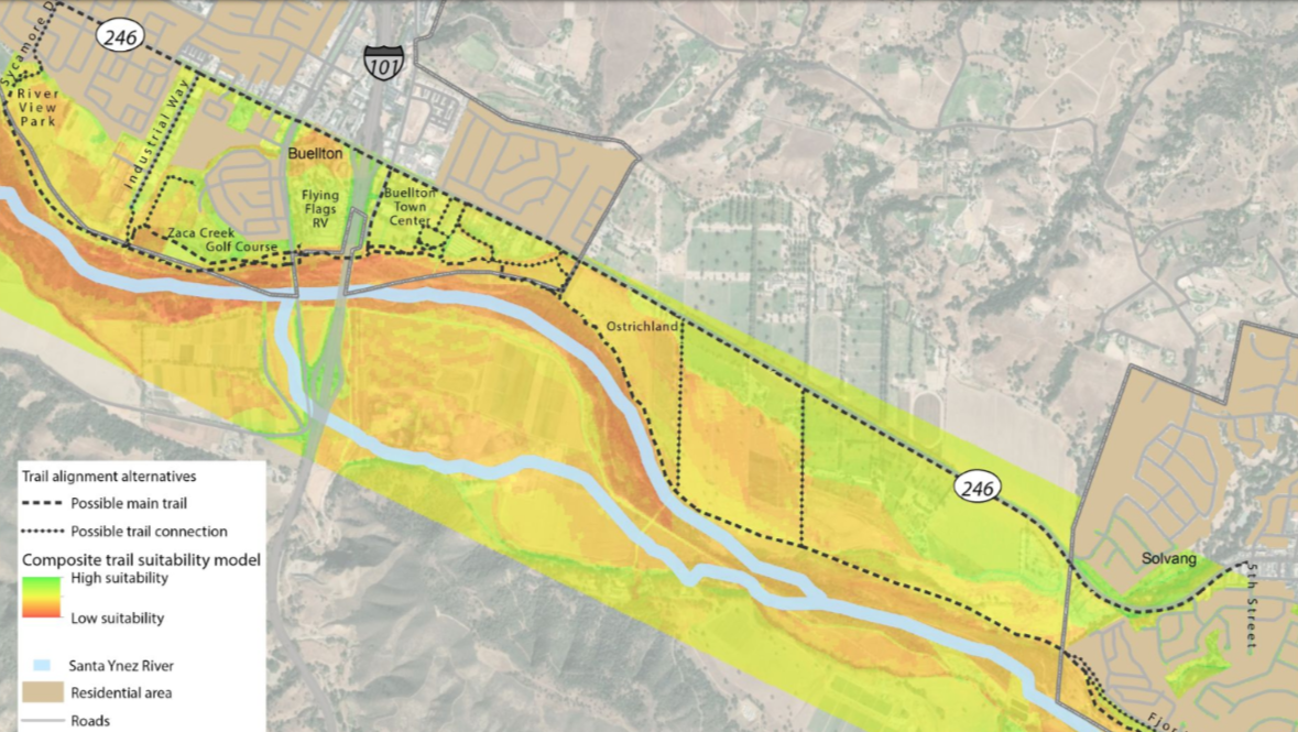Santa Ynez River Trail Alignment Study.